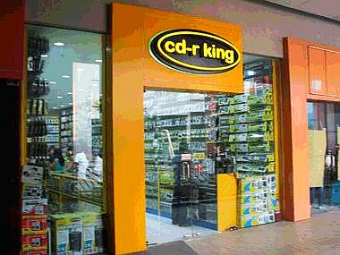 cd-r king Mall of Asia