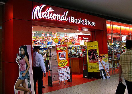 National Bookstore SM Mall of Asia Location Map