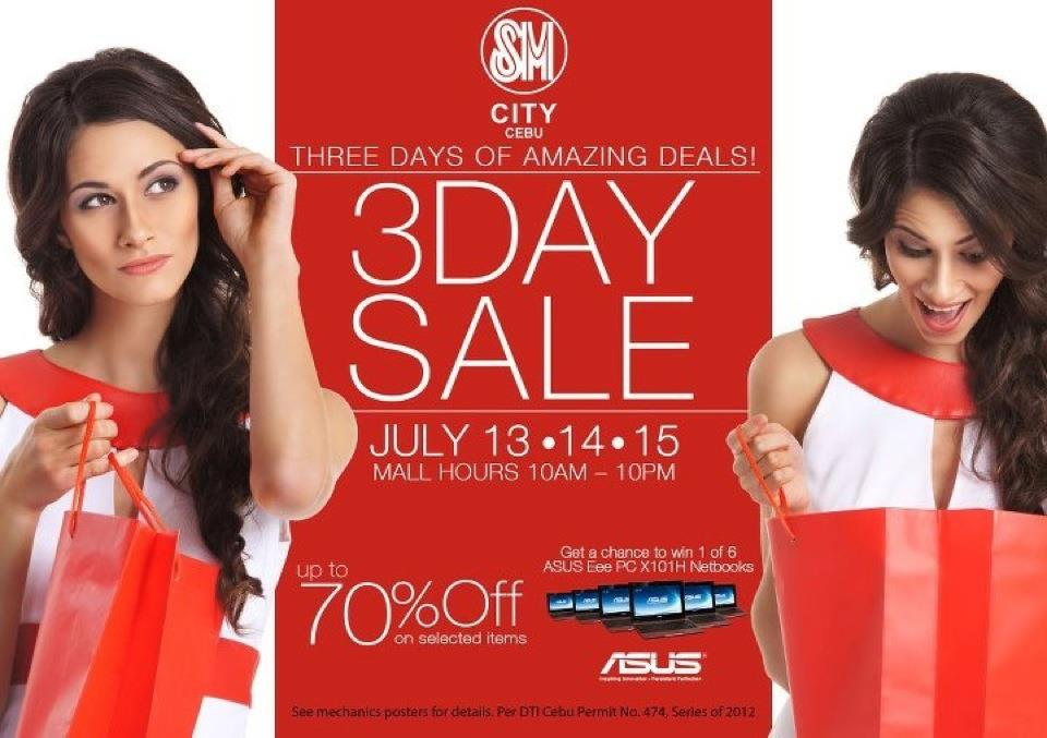 SM City Cebu Mall Wide Store Sale