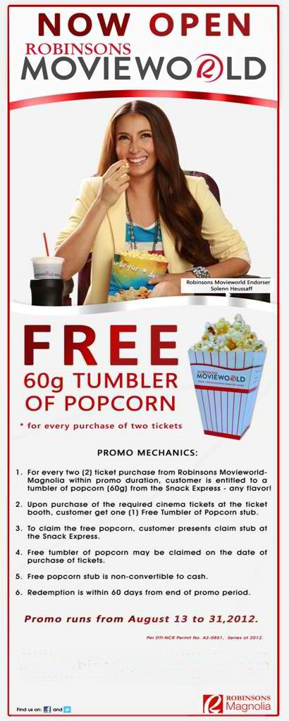 robinsons mall cinema - robinsons magnolia promotion events movie world