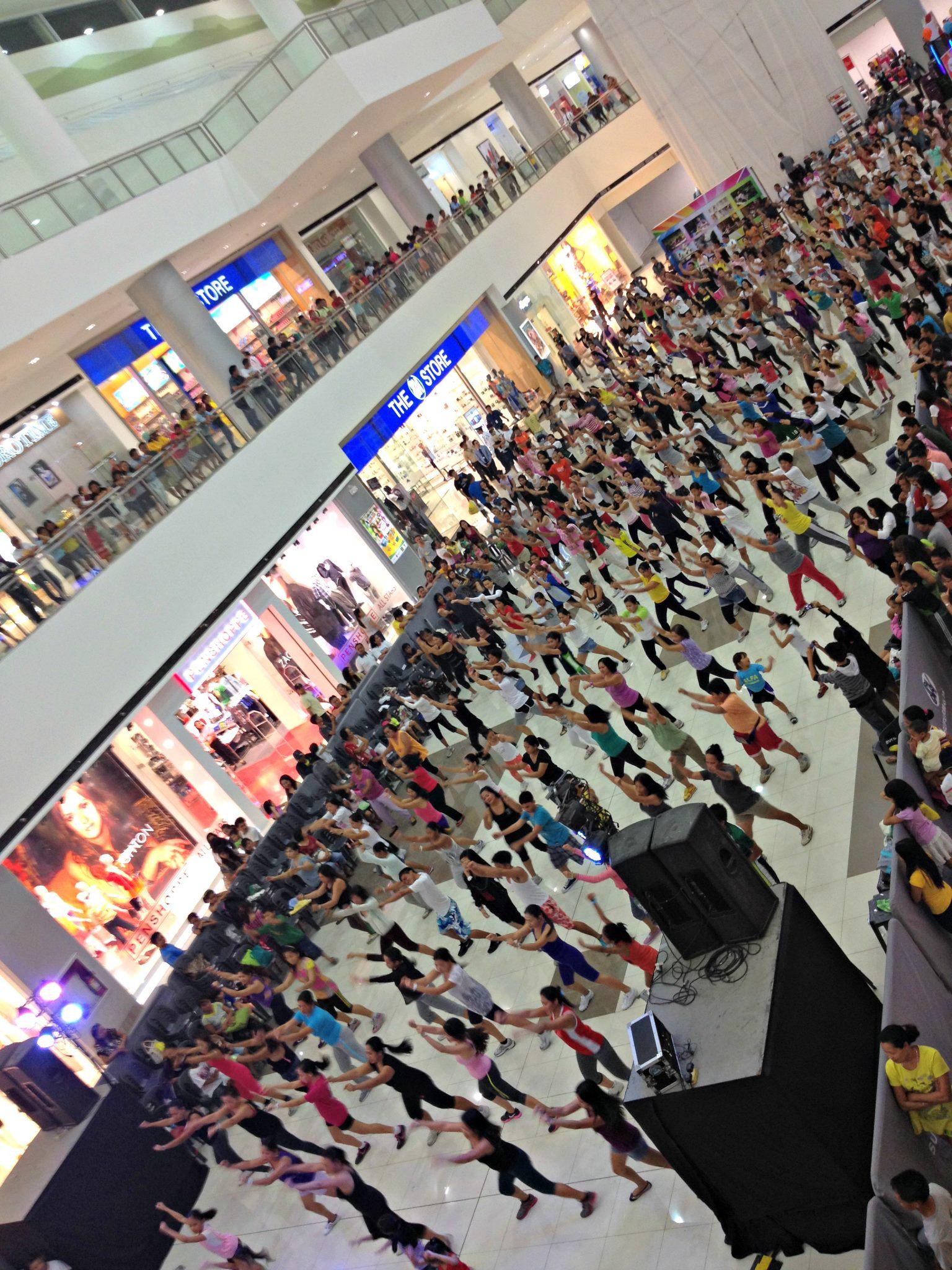 Zumba Free Dance instructor SM City Consolacion Cebu