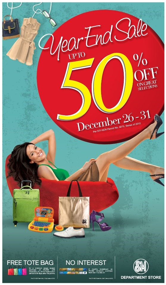 SM City Cebu Year End Sale